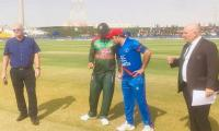 Afghanistan win toss, elected to bat against Bangladesh