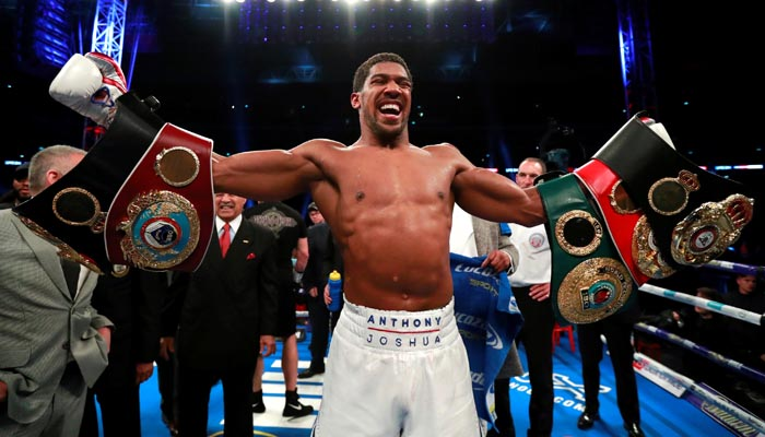 Anthony Joshua admits he still fears losing to 'that one punch'