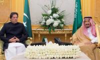 PM Imran Khan felicitates Saudi King Salman on National Day
