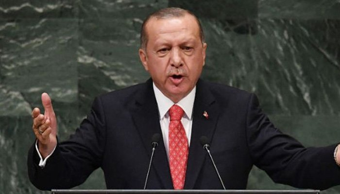 Turkey's Erdogan at United Nations rails against sanctions 'as weapons'