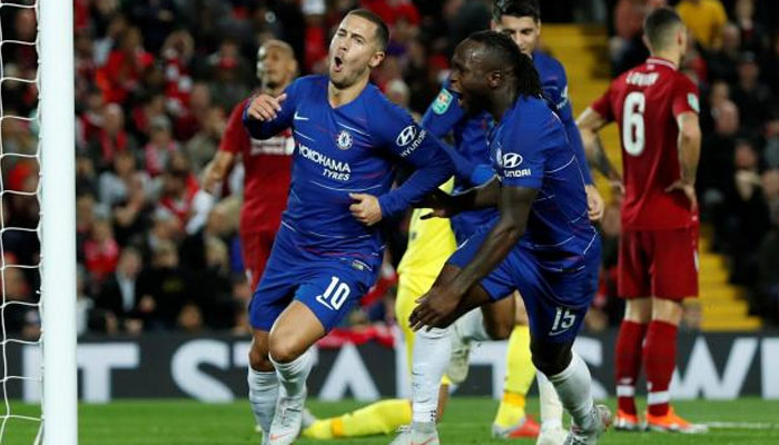 Magnificent Hazard ends Liverpool´s 100 percent start | Sports