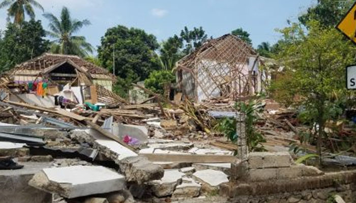 Indonesia searches for survivors after powerful quake, tsunami
