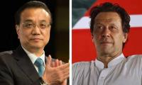 PM Imran Khan felicitates Chinese Premier on China's national day