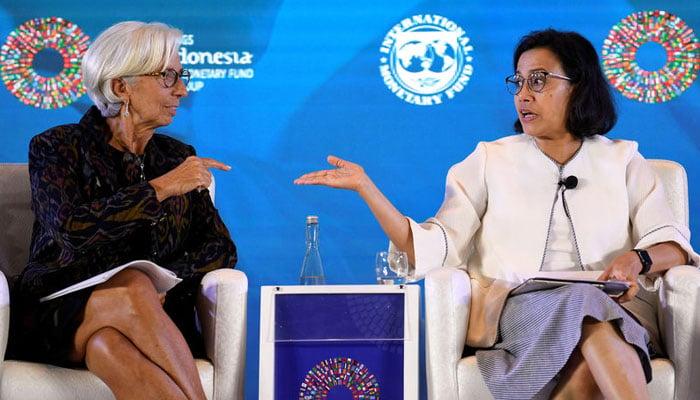 Asad Umar meets Indonesian counterpart, WB chief in Bali