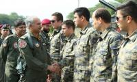 Air chief participates in PAF, TAF bilateral air exercise