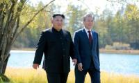 Trump says S.Korea will not lift N.Korea sanctions without U.S. approval
