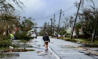 Michael weakens to tropical storm after day of havoc in Florida