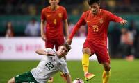 China and India, football's biggest minnows, in rare clash