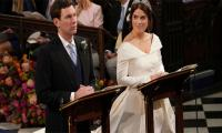 Princess Eugenie weds in Peter Pilotto dress and queen's tiara
