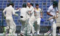 Pakistan in deep trouble in second Test against Australia