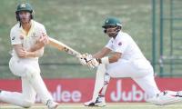 Pakistan stretch lead despite bizarre Azhar run out