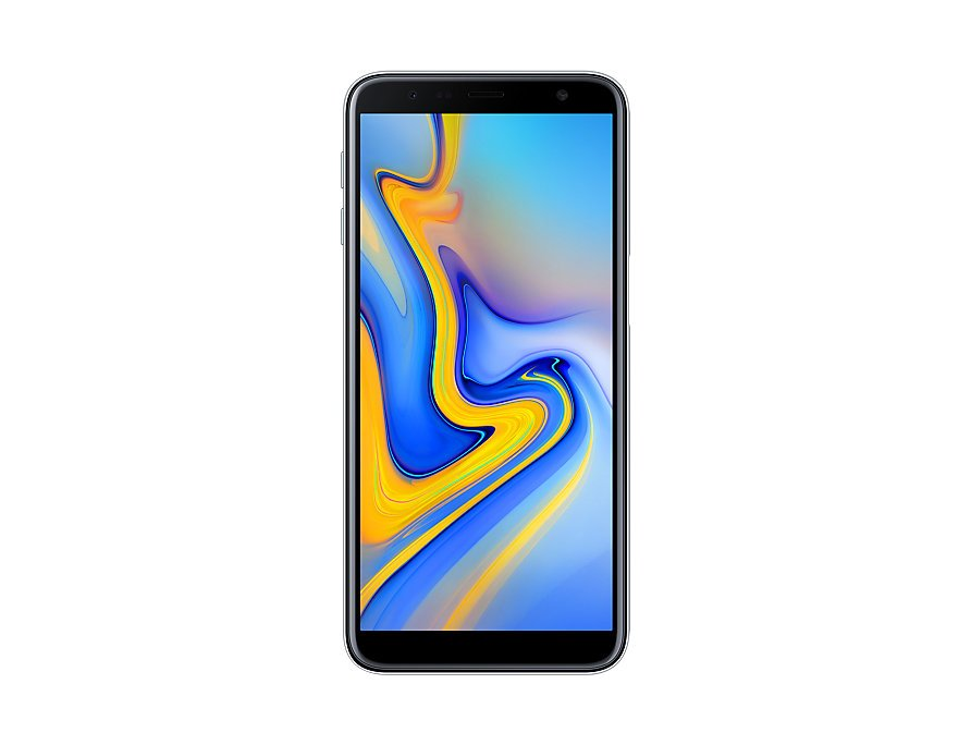Samsung Galaxy J6 Plus front Gray