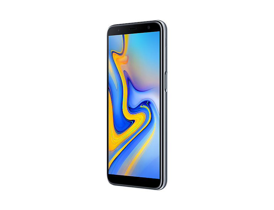 Samsung Galaxy J6 Plus perspective right Gray