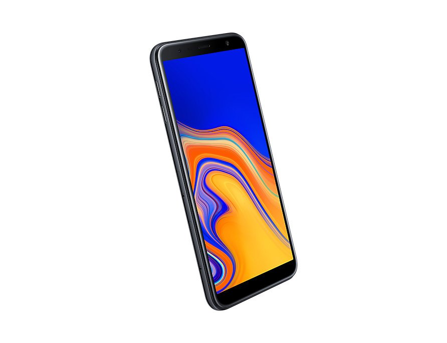 Samsung Galaxy J6 Plus front-side perspective Black