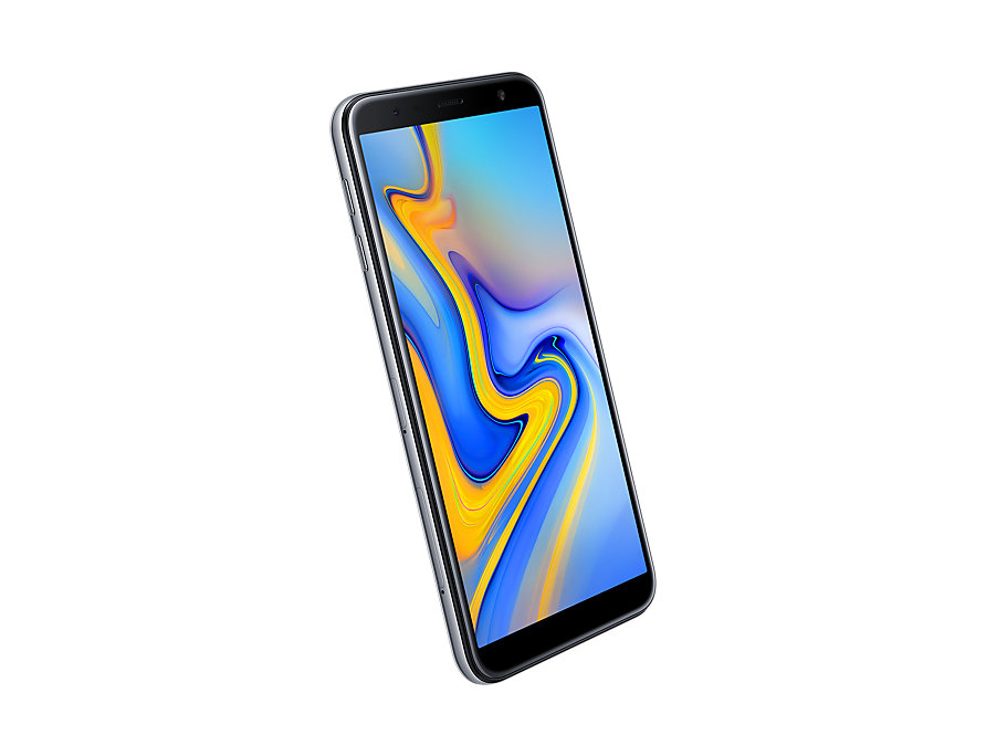 Samsung Galaxy J6 Plus front-side perspective Gray