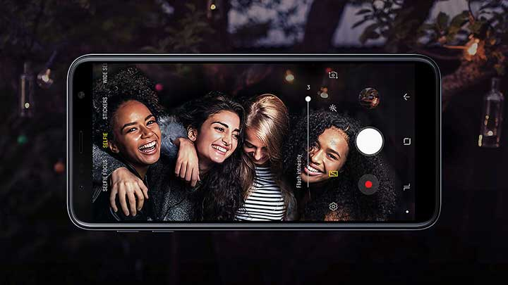 The clearer way to capture - Samsung Galaxy J6 Plus Feature
