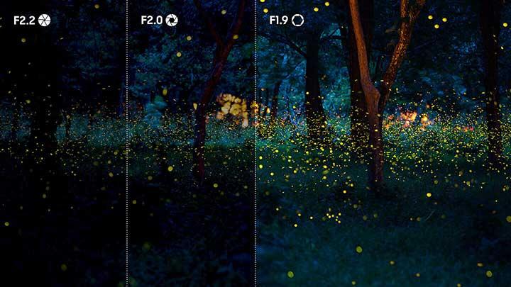 Dynamic shutter -  Samsung Galaxy J6 Plus Feature