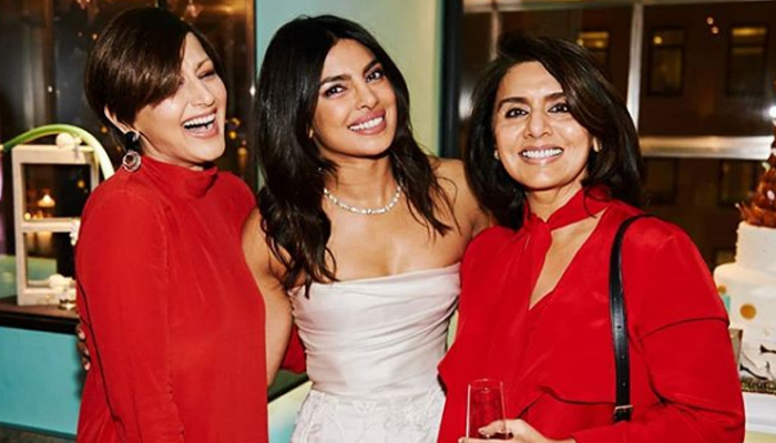 Priyanka Chopra gives future sister-in-law Sophie Turner piggyback ride during bachelorette party