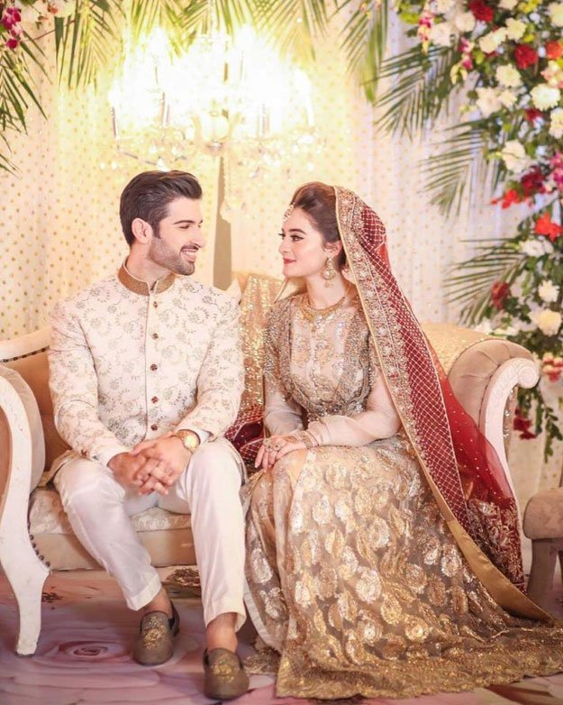 Tv Actors Aiman Khan And Muneeb Butt Are Married Entertainment