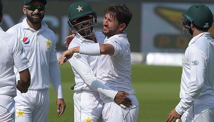 Image result for Yasir spins out New Zealand in 2nd test against NZ