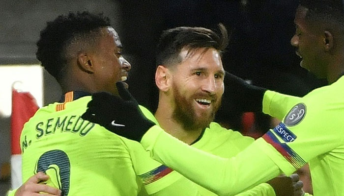 Messi Surpasses Ronaldo For Champions League Scoring Record