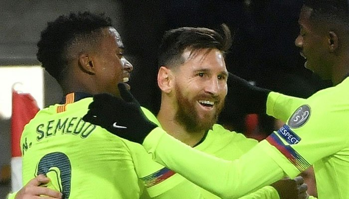 Messi overtakes Ronaldo to reclaim Champions League goalscoring record