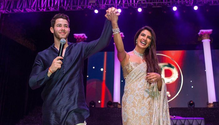 Nick Jonas and Priyanka Chopra celebrate wedding reception in Delhi