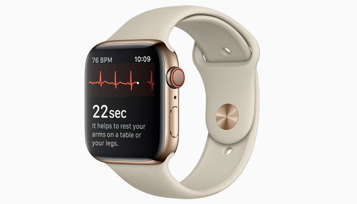 Apple Watch series 4 gets ECG app, detects irregular heart beats - The News International - watch, series, irregular, heart, detects, beats, apple