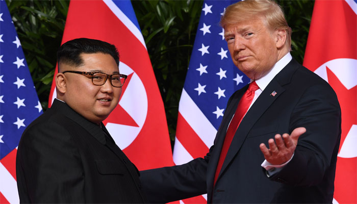 Trump expecting to meet with North Korean leader soon