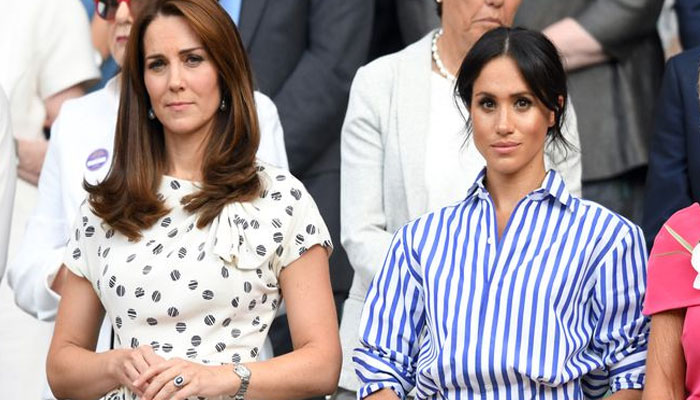 ROYAL FEUD: Kate 'THREATENED by Meghan Markle's appearance on royal scene'
