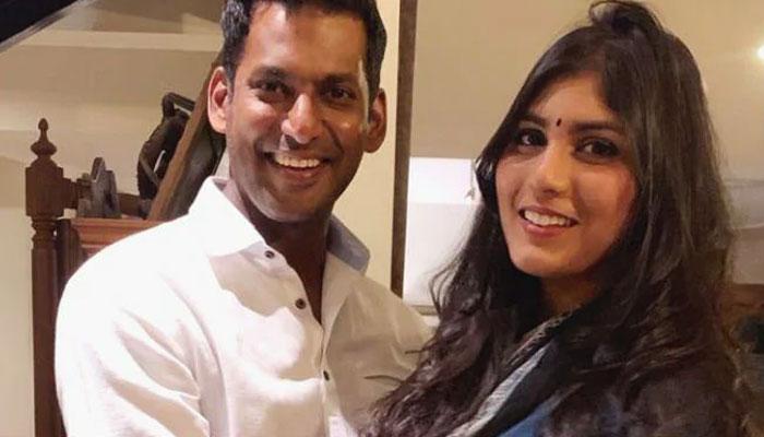 South Indian Stars Vishal Anisha Are Now Engaged Entertainment