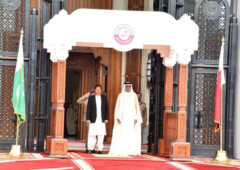 Prime Minister Imran Khan's visit to Qatar in pictures 422574 3651712 pm qatar6 updates