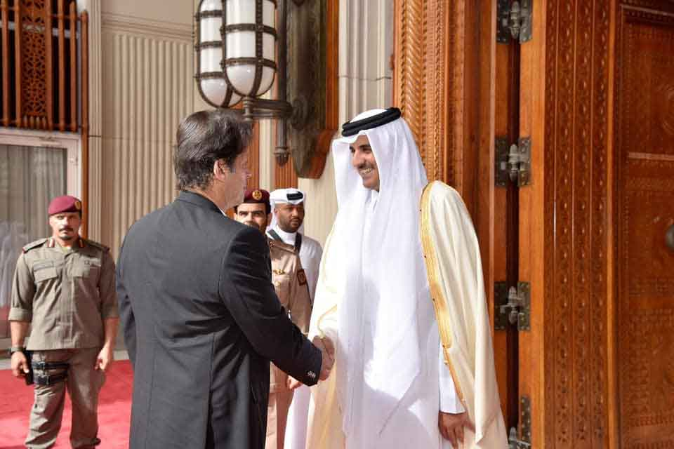 Prime Minister Imran Khan's visit to Qatar in pictures 422574 7025516 pm qatar5 updates
