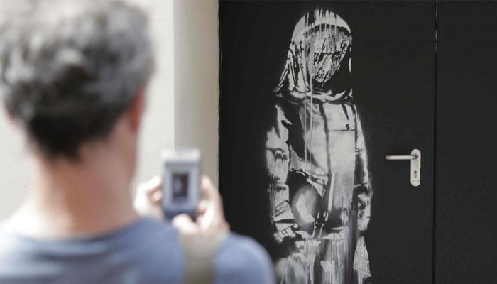 Banksy work stolen from Paris terror attack venue