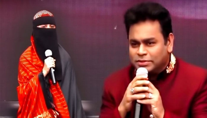 AR Rahman's daughter Khatija says she wears veil by choice