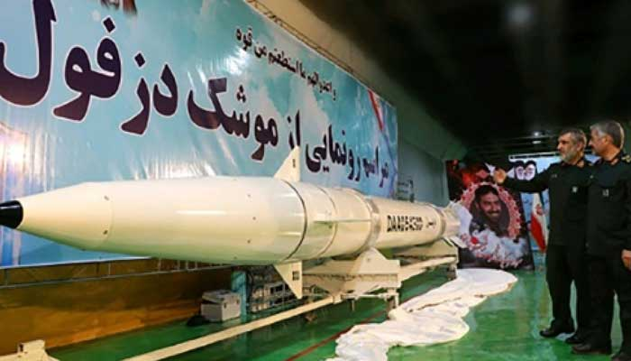 Iran unveils underground ballistic missile plant for first time