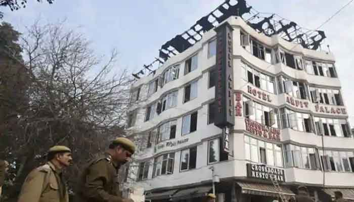Fire in Delhi hotel kills 17, raises questions of safety