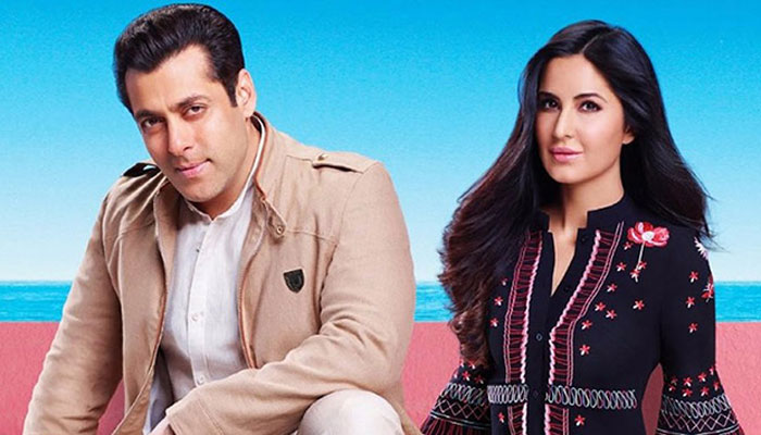 Katrina Kaif shares an endearing pic with Salman Khan post wrapping `Bharat` shoot