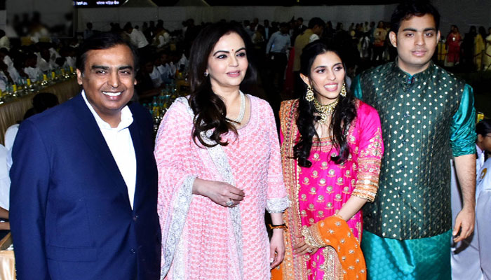 Akash Ambani, Shokla Mehta host star-studded reception after wedding extravaganza