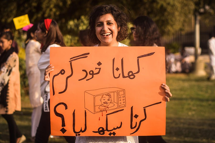 Breaking the shackles of patriarchy at Aurat March 2019: In pictures | Pakistan | thenews.com.pk |