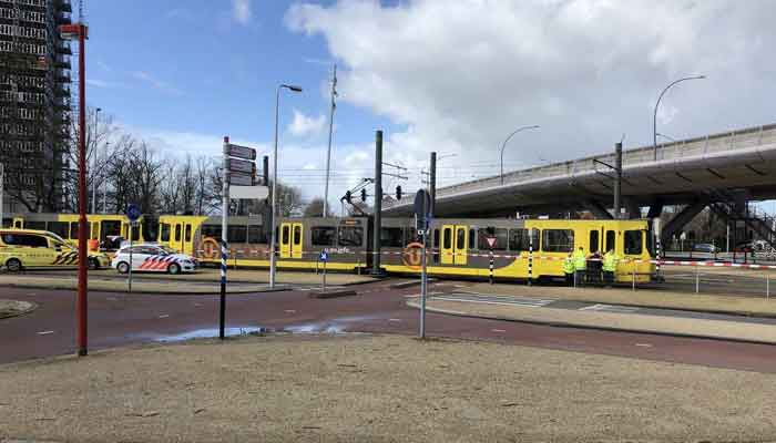 Multiple injured after shooting on tram in Dutch city of Utrecht