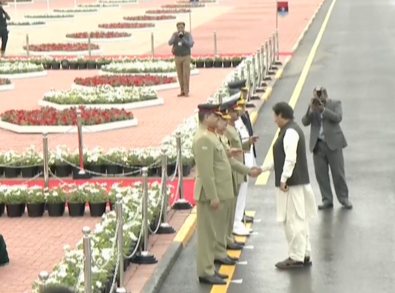 Pakistan Day military parade underway in Islamabad