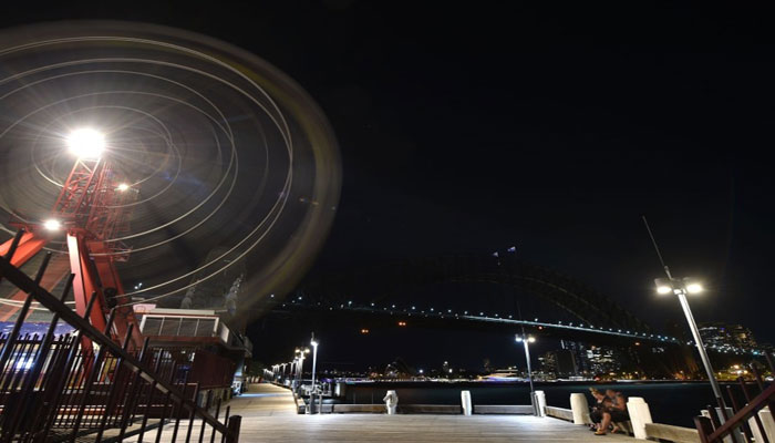 Lights Out In Sydney For Earth Hour