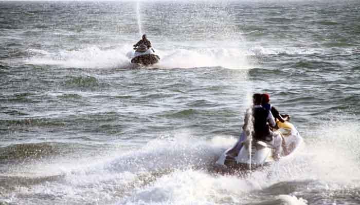 Pakistan Navy Water Sports Gala held at Manora Beach Karachi