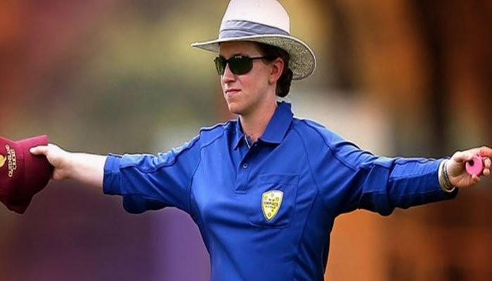 Claire Polosak: First woman umpire in men's ODI