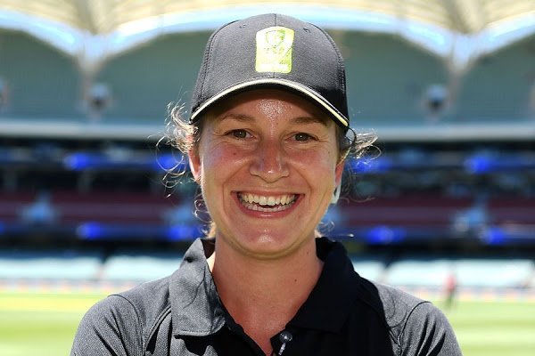 Australian Claire Polosak becomes first woman to umpire men's ODI