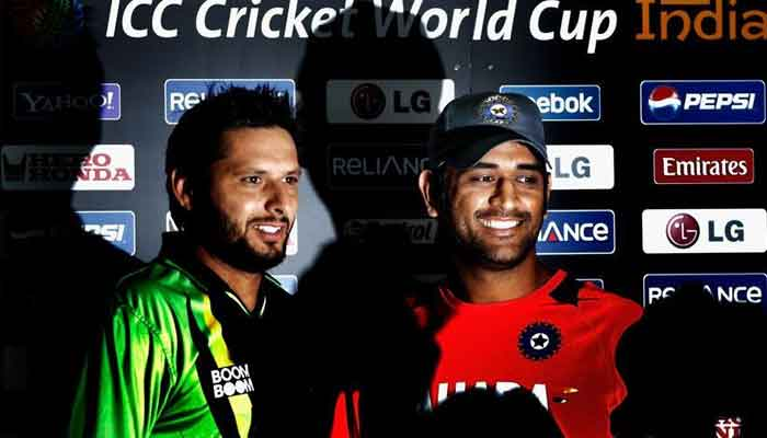 fd55a5044c7 Former Pakistan captain Shahid Afridi has picked his all-time World Cup  Eleven but Indian media and cricket fans are not happy with his selection  as he did ...