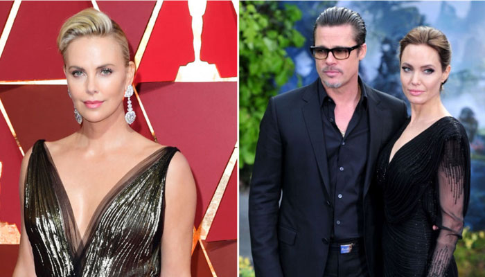 a08e182e58c57 Charlize Theron rubbishes rumours about fight with Angelina Jolie after she  dated Brad Pitt