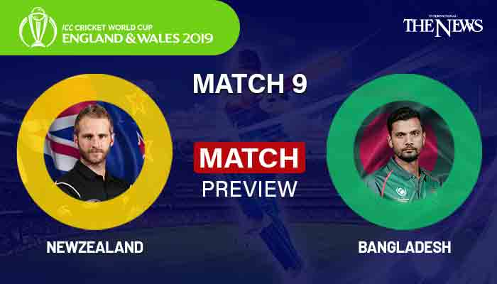 Bangladesh vs New Zealand - Highlights & Stats