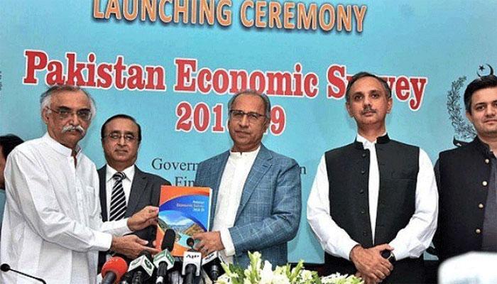 Dr Abdul Hafeez Shaikh unveils Economic Survey 2018-19 | Pakistan